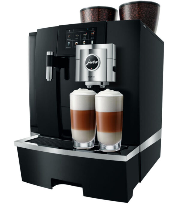 Jura GIGA X8 – Generation 2 Tankversion Schwarz Kaffevollautomat