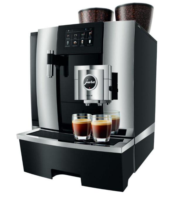 Jura GIGA X8c Generation 2 Festwasser Chrom Kaffeevollautomat shop