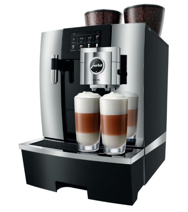 Jura GIGA X8c Generation 2 Festwasser Chrom Kaffeevollautomat
