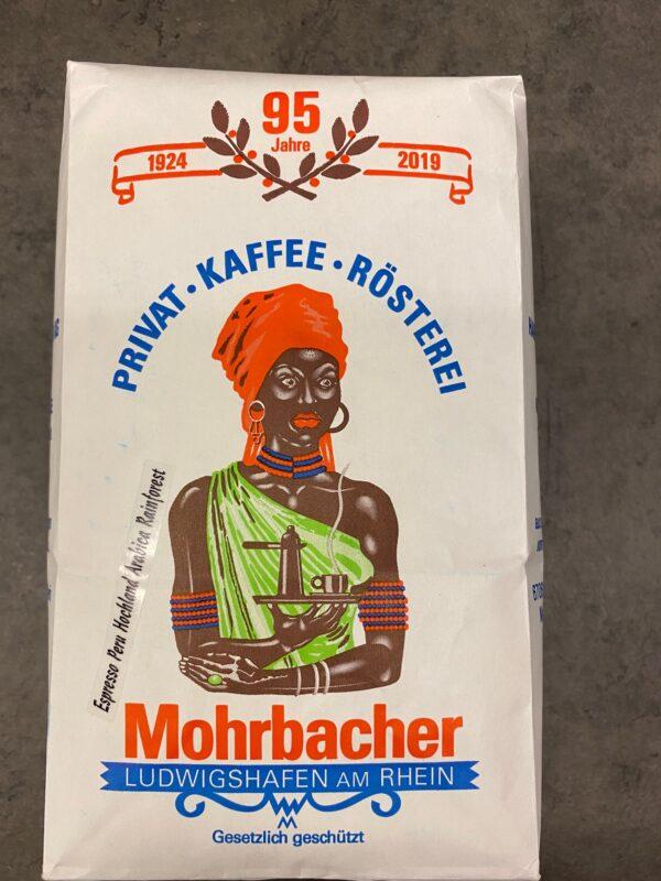 Mohrbacher Kaffee Kaffeebohnen