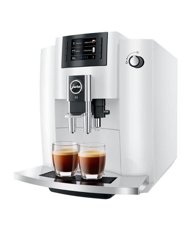 Jura E6 Pianowhite Kaffeevollautomat