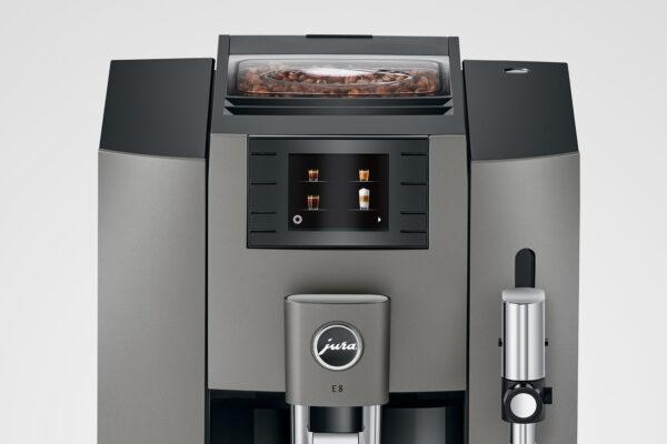 Jura Dark inox E8 EB Kaffeevollautomat shop