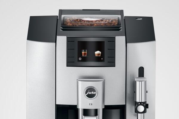 Jura E8 EB moonlight Silver Kaffeevollautomat shop