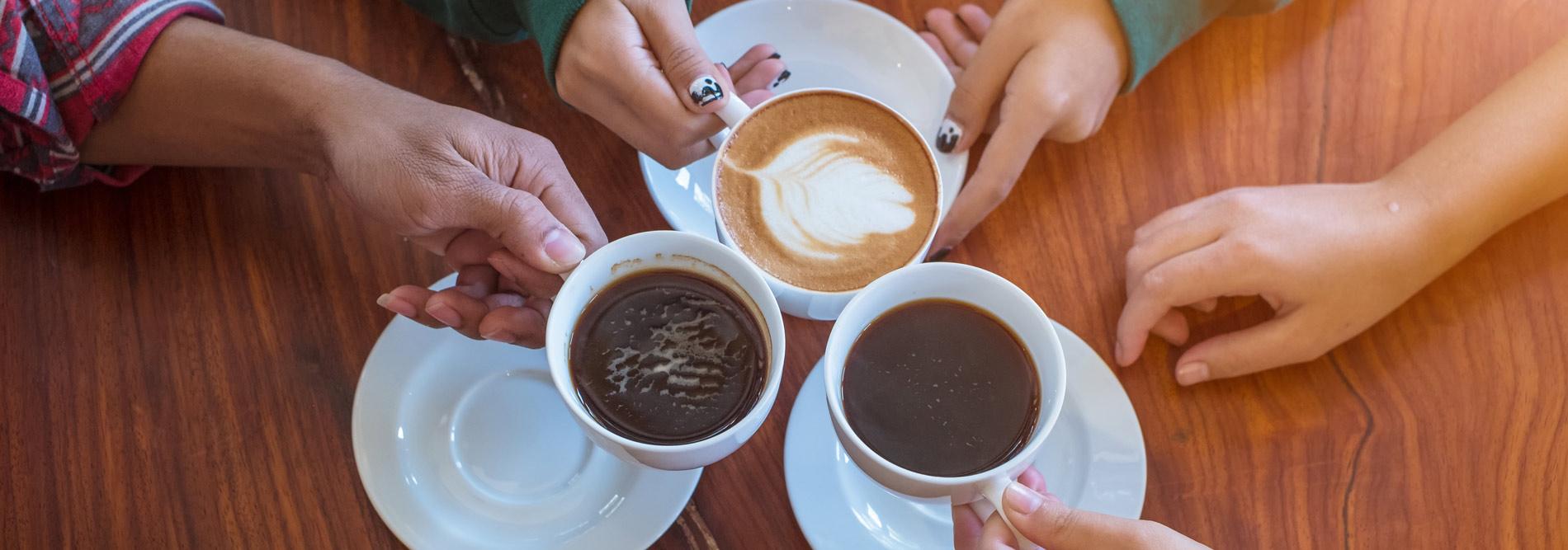 Nivona Kaffee trinken