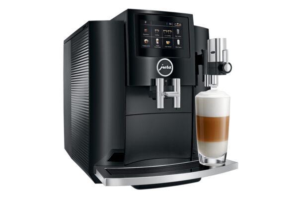Jura S8 EA Piano Black Kaffeevollautomat shop